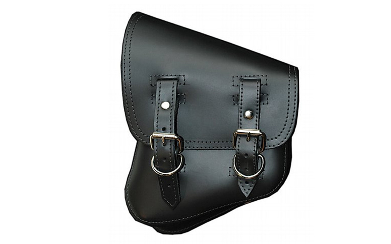 d7d49aaa4b83 La Rosa Design Left Side Solo Saddlebag for all Softail Models -Black -  WestEndMotorsports.com