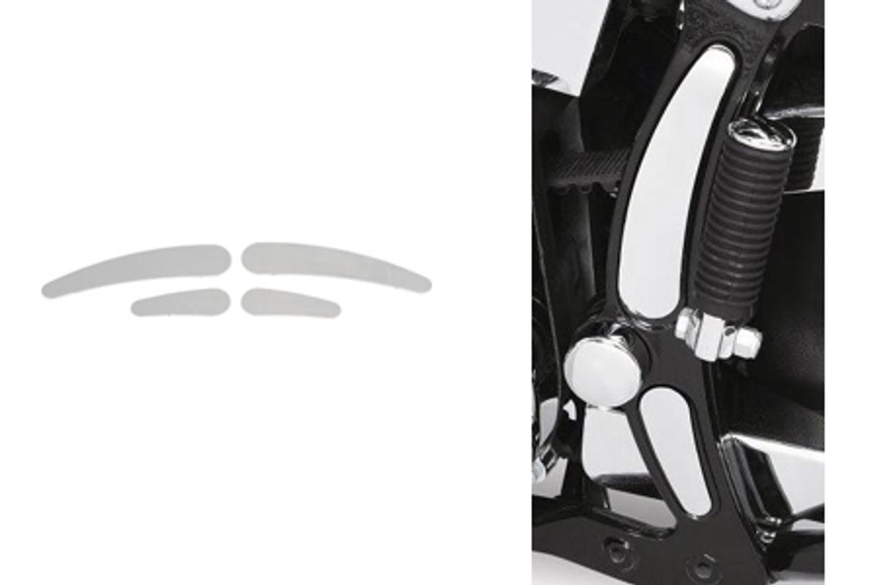 Drag Specialties Chrome Rear Axle Covers Harley 00-07  Softail St FLST FLSTN