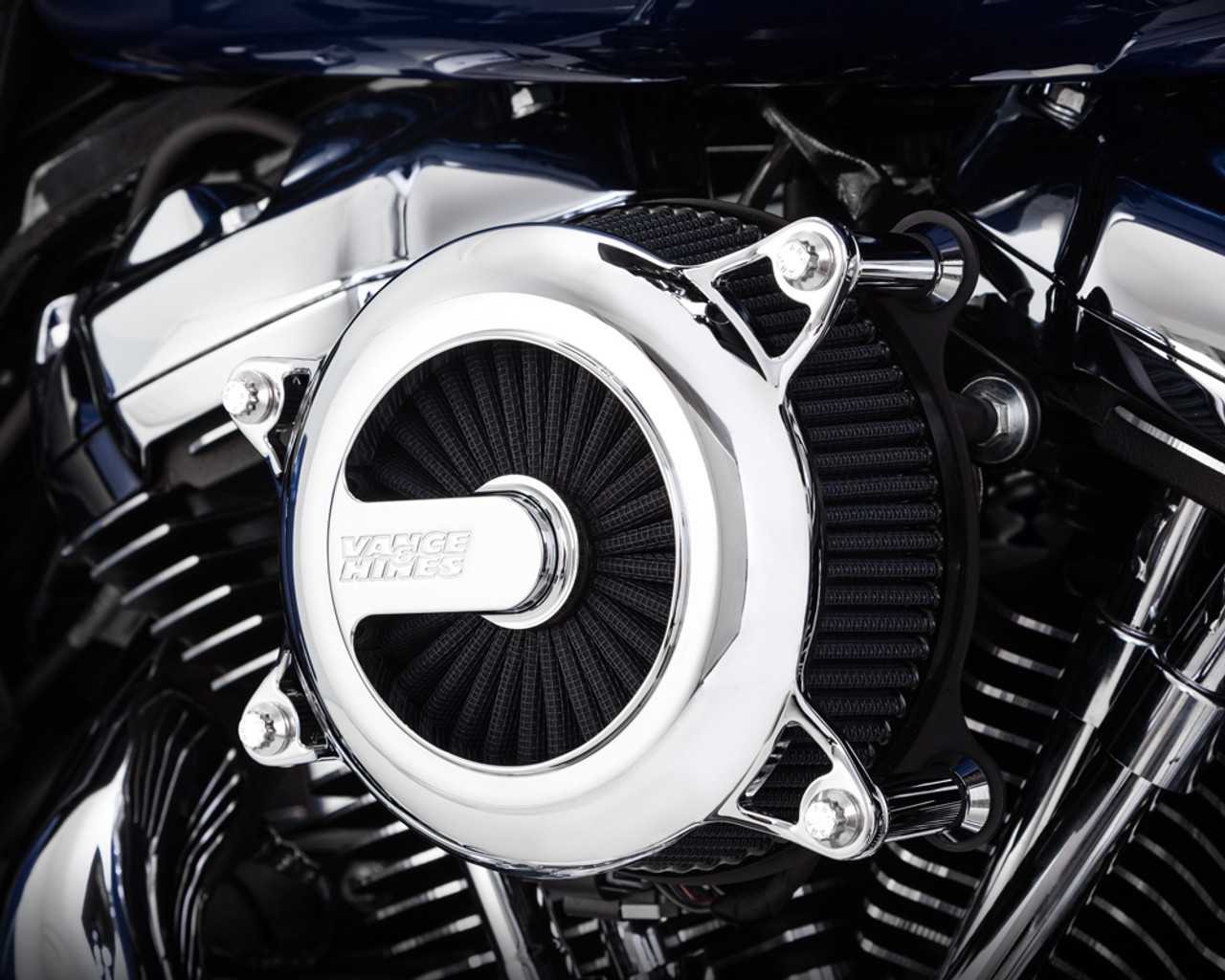 Vance & Hines VO2 Rogue Air Intake for '18-Up Softail Models - Chrome