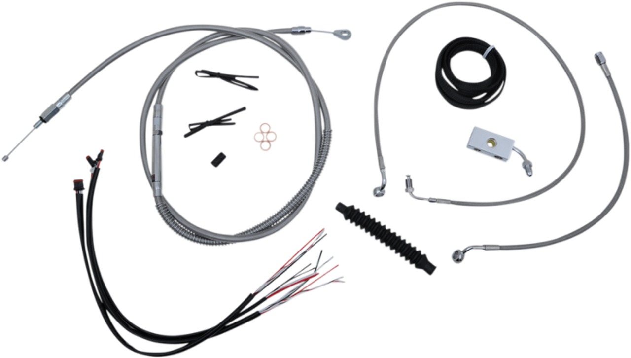 LA Choppers Complete Handlebar Cable Kits for '18-Up Harley-Davidson on