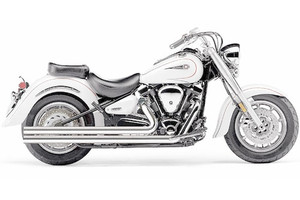 Bassani Power Curve True-DualCrossover Header Pipes for