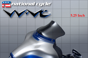 NATIONAL CYCLE WAVE DARK TINT WINDSHIELD HARLEY ELECTRA GLIDE FLHTCU ULTRA 96-13