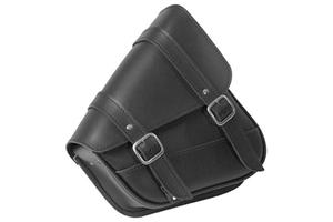 Willie /& Max 59776-00 Revolution Universal Swingarm Saddlebag Black