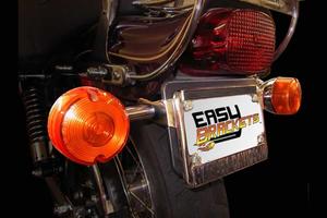 detachable backrest Easy Brackets for HD 06-08 Dyna Wide Glide// 08-17 Fat Bob w