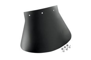 """Drag Specialties Black Rubber POW MIA Rear 9 1//2/"""" X 6 1//2/"""" Motorcycle Mud Flap"""