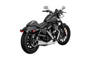 Vance & Hines 2-into-1 Upsweep Exhaust for '07-Up XL Sportster Models - Chrome (17624)