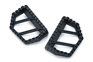 Kuryakyn Riot Mini Floorboards in Black 3597