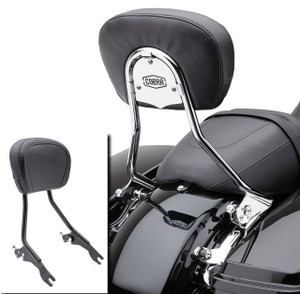 Cobra Detachable Backrest and Mounting Hardware for Harley Davidson Touring Models '09-Up