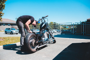 How to Safely Remove Your Motorcycle's Tire for Inspection or Repair