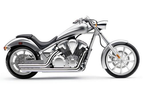 Cobra Speedster Slash-Down  Exhaust with PowerPort for Sabre/Stateline/Interstate 1300 '10-up