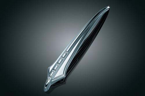 Kuryakyn Front Fender Spear for Honda, Kawasaki & Yamaha Models (Click for fitment)