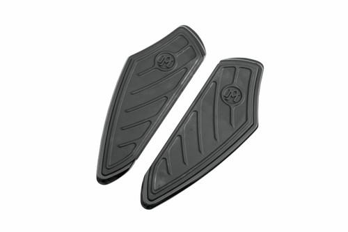 Performance Machine Contour Driver Floorboards for '84-Up Touring/FL Trike '00-17 FLST Black