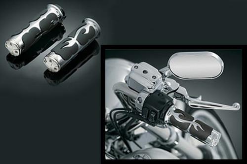 Kuryakyn Iso-Flame Grips for Yamaha Royal Star & Venture (All Models)