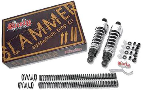 Burly Brand  Slammer Kit for '04-Up XL Black