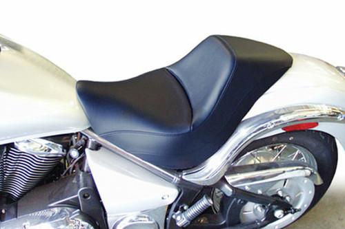 Saddlemen Renegade Solo Seat  for  Vulcan 900  Custom  '07-11 -Plain Saddlehyde