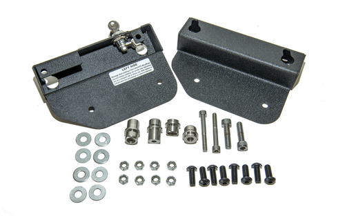 Easy Brackets Saddlebag Supports for Indian Chief Classic '14-Up