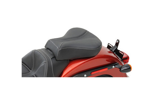 Saddlemen Dominator Pillion Seat with SaddleGel for '06-10 FXST & '07-17 FLSTF/B - w/ Dominator Solo Seat Solo seat sold separately