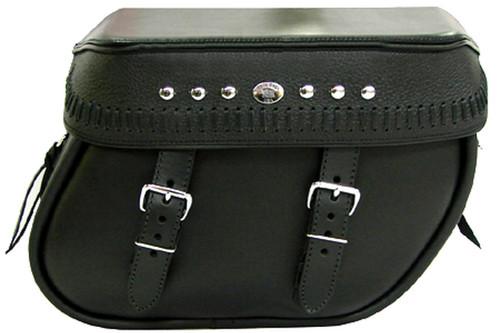 Boss Bags #38 Model  Italian Style w/ a Braided Lid Valence