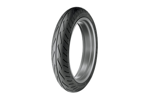 Dunlop Original Equipment Replacement Tires for VTX1800C   '02-07  FRONT 130/70R18  63H   BLK  D251F  Model -Each