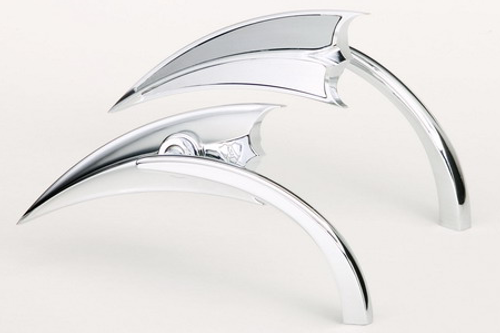 Arlen Ness  Scoop Triangle Mirror  -Left Side Only