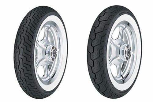 Dunlop Harley Davidson D402 Tires REAR-MU85B16WWW  77H Whitewall  -Each