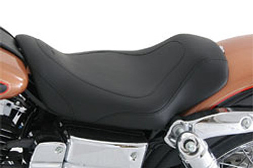 Mustang Tripper Solo Seat for Dynas '04-05 Fits Dyna Glide, Wide Glide,  Super Glide Low Rider, Street Bob, Fat Bob & Convertible