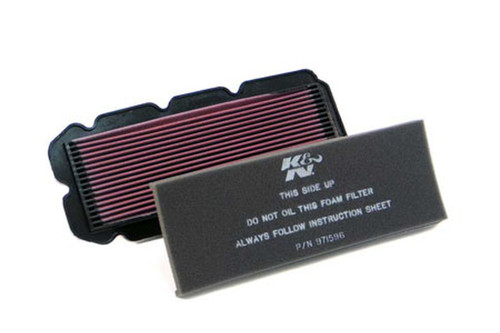 K & N  High-Flow Air Filter for Valkyrie 1500 '97-03