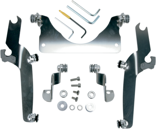 Memphis Shades Sportshield No Tool Windshield Mounting Hardware for  C90/T '05-09