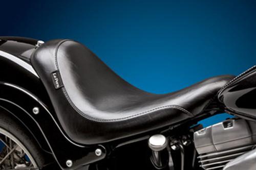 LePera Silhouette Seat for '06-Up FXST & '07-11 FLSTF (Except FXSTD & FXSTSSE) 200mm Tires w/ Biker Gel