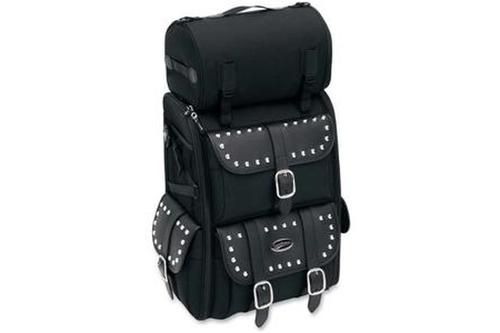 Saddlemen S3500S Deluxe Sissy Bar Bag -Studded