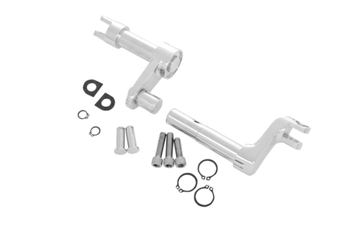 "Drag Specialties Forward Control Conversion Kit for '11-Up XL1200C/X/V Models - 2"" Extended length, Chrome"