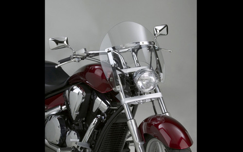 National Cycle SwitchBlade Windshield for Sabre 1300 '10-14 - Shorty Style, Clear
