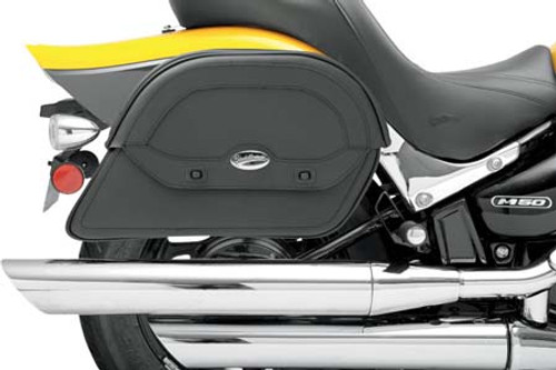 Saddlemen Express Cruis'n Slant Saddlebags-Jumbo Custom-Fit Style (No Yoke)