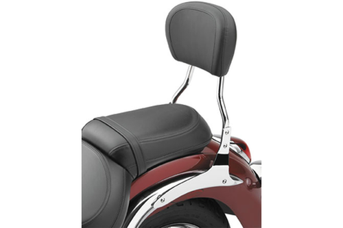 Cobra Sissy Bar 14 inch for VT1300CR Stateline '10-16 - Round Style with Wide Touring Pad