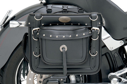 All American Rider XXXL Box Style Detachable Saddlebags -Rivet