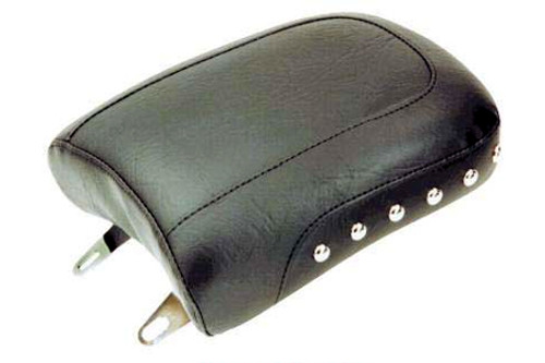 Mustang Thin Rear Seat for Dyna/Wide Glide '06-17 - Studded