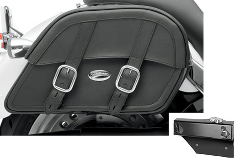 Saddlebag Package for Honda VTX1300R & VTX1800R/S/N '06 & Earlier Models Saddlemen Drifter Saddlebags and Easy Brackets