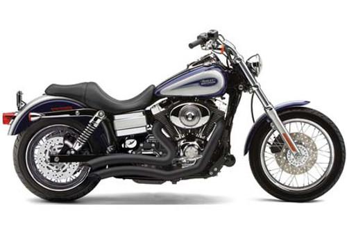 Cobra Speedster Short Swept for '06-11 Dyna Models -Black