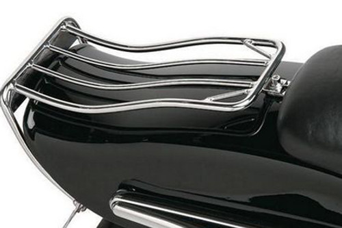 Drag Specialties Bobtail Luggage Rack for '80-86 FXDWG & '84-99 Softails