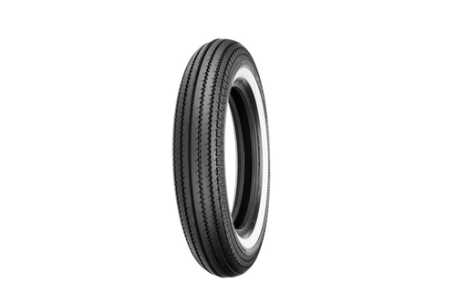Shinko Motorcycle Tires 270 Super Classic FRONT/REAR 5.00-16 S  69 -Whitewall, Each
