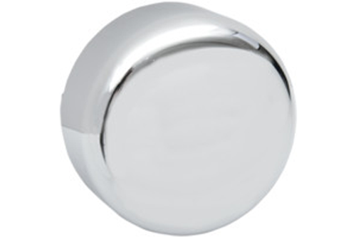 Drag Specialties Horn Cover for most '91-Up Big Twin & XL Models -Chrome, Round