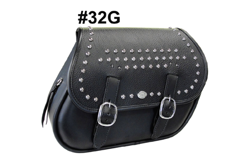 Boss Bags #32 for Dyna '94-up -Gambler Stud Pattern