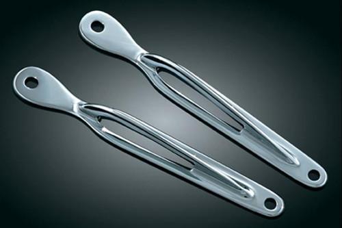 Kuryakyn Teardrop Custom Tie-Down Brackets for Softail Models -Pair (Click for fitment)