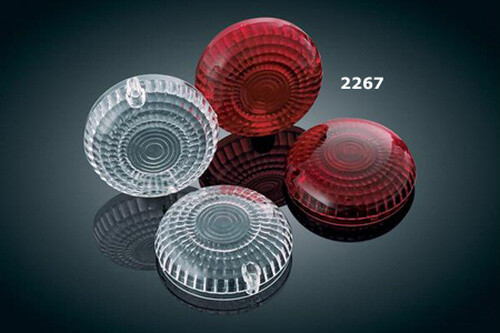 Kuryakyn Red Replacement Lenses for Yamaha Models (Click for fitment)
