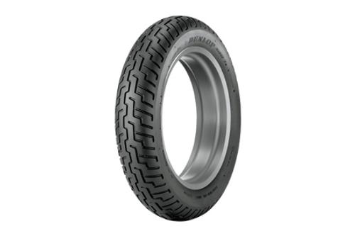 Dunlop Original Equipment Replacement Tires for VTX1300S/R/T  '03-09   FRONT 140/80-17  69H   BLK  D404F  Model -Each