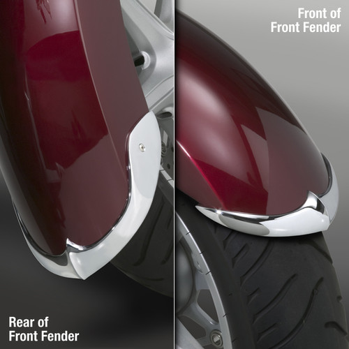 National Cycle Front Fender Tips/Trim for Interstate/Stateline 1300 '10-Up - 2pc. Set