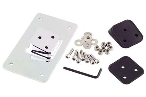 Biker's Choice Custom License Plate Bracket for '55-08 XL & Big Twin (except Bobbed Rear Fenders)