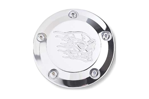 Joker Machine Points Cover -for '99-Up Twin Cam -Hot Head