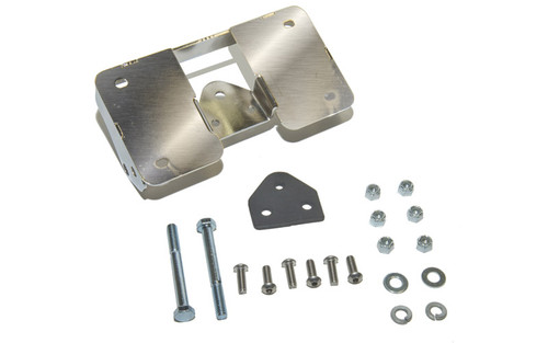 Easy Brackets Turn Signal Relocation Kit & Lay Down License Plate Mount for Certain Dyna Models '02-05