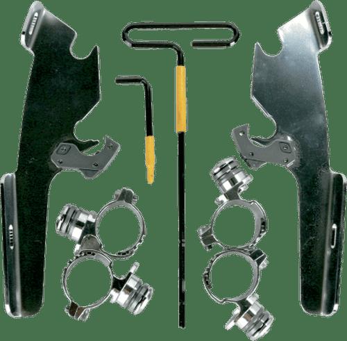 Memphis Shades  Fats/Slim Windshield Mounting Hardwarefor Vulcan 900 Custom '07-up